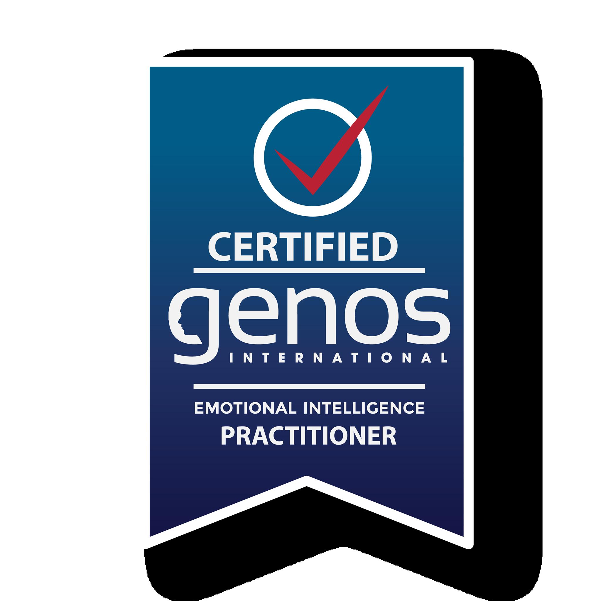 Helina Mellanen Certified Emotional Intelligence Practitioner Badge